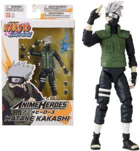 Figura de Kakashi de Naruto de Bandai 2 - Figuras coleccionables de Kakashi