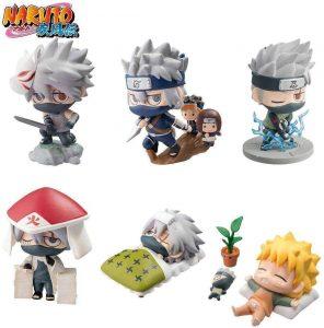 Figura de Kakashi de Naruto de Megahouse - Figuras coleccionables de Kakashi