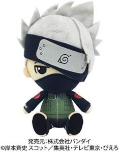 Figura de Kakashi de Naruto de peluche - Figuras coleccionables de Kakashi