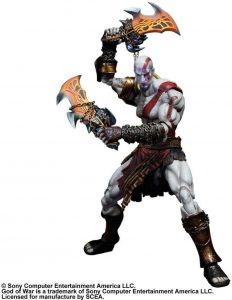 Figura de Kratos de God of War de Play Arts - Figuras coleccionables de God of War