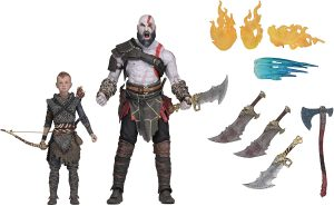 Figura de Kratos y ATREUS de God of War 4 de Neca - Figuras coleccionables de God of War