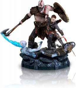 Figura de Kratos y ATREUS de God of War 4 de Sony - Figuras coleccionables de God of War