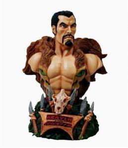 Figura de Kraven el Cazador de Busto de Marvel Select - Figuras coleccionables de Kraven el Cazador