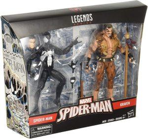 Figura de Kraven el Cazador vs Spiderman de Marvel Legends - Figuras coleccionables de Kraven el Cazador