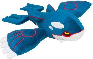 Figura de Kyogre de Peluche - Figuras coleccionables de Kyogre de Pokemon
