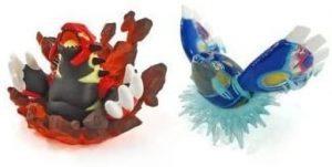 Figura de Kyogre y Groudon de Nintendo - Figuras coleccionables de Kyogre de Pokemon