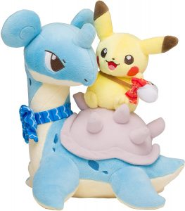 Figura de Lapras y Pikachu de Peluche - Figuras coleccionables de Lapras de Pokemon