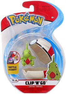 Figura de Larvitar de Pokemon Battle - Figuras coleccionables de Larvitar de Pokemon