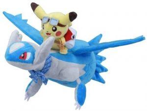 Figura de Latios con Pikachu de Peluche - Figuras coleccionables de Latios de Pokemon