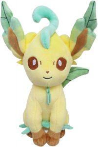 Figura de Leafeon de Peluche - Figuras coleccionables de Eevee de Pokemon