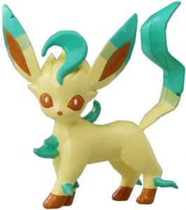 Figura de Leafeon de Takara Tomy - Figuras coleccionables de Eevee de Pokemon