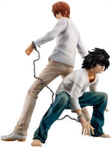 Figura de Light y L de Megahouse - Figuras coleccionables de Death Note