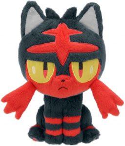Figura de Litten de Peluche 2 - Figuras coleccionables de Litten de Pokemon