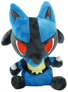 Figura de Lucario de Peluche 2 - Figuras coleccionables de Lucario de Pokemon