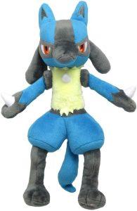Figura de Lucario de Peluche - Figuras coleccionables de Lucario de Pokemon