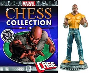 Figura de Luke Cage de Chess Collection - Figuras coleccionables de Luke Cage