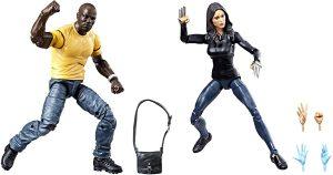 Figura de Luke Cage y Claire Templeton de Marvel Legends - Figuras coleccionables de Luke Cage