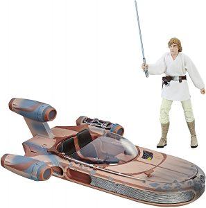 Figura de Luke Skywalker Landspeeder de Hasbro - Figuras coleccionables de Luke Skywalker de Star Wars