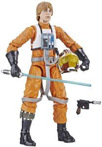 Figura de Luke Skywalker Piloto de Hasbro - Figuras coleccionables de Luke Skywalker de Star Wars
