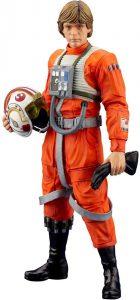 Figura de Luke Skywalker de Piloto de Kotobukiya - Figuras coleccionables de Luke Skywalker de Star Wars