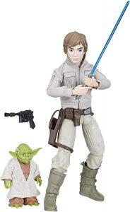 Figura de Luke Skywalker y Yoda de Hasbro - Figuras coleccionables de Luke Skywalker de Star Wars