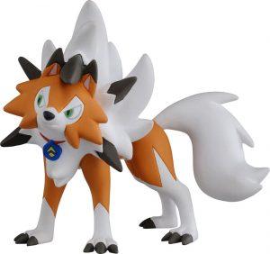 Figura de Lycanroc 2 de Takara Tomy - Figuras coleccionables de Rockruff de Pokemon