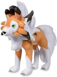 Figura de Lycanroc de Peluche - Figuras coleccionables de Rockruff de Pokemon
