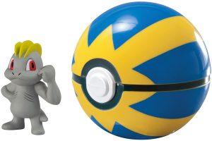 Figura de Machop con pokeball de Takara Tomy - Figuras coleccionables de Machop de Pokemon