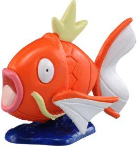 Figura de Magikarp de Takara Tomy básico - Figuras coleccionables de Gyarados de Pokemon