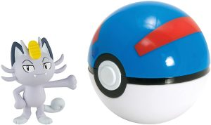 Figura de Meowth de Alola de Pokemon Battle - Figuras coleccionables de Meowth de Pokemon