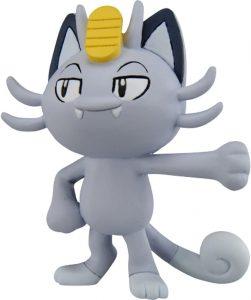 Figura de Meowth de Alola de Takara Tomy básico - Figuras coleccionables de Meowth de Pokemon