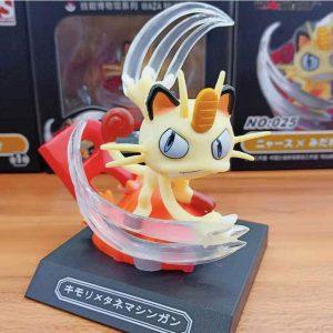 Figura de Meowth de Collectibles - Figuras coleccionables de Meowth de Pokemon