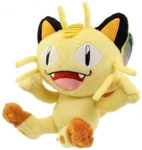 Figura de Meowth de peluche - Figuras coleccionables de Meowth de Pokemon