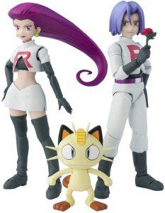 Figura de Meowth del Team Rocket de Bandai - Figuras coleccionables de Meowth de Pokemon