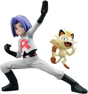 Figura de Meowth y James de Megahouse - Figuras coleccionables de Meowth de Pokemon
