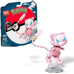 Figura de Mew de Mega Construx - Figuras coleccionables de Mew de Pokemon