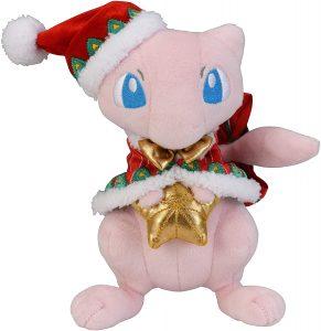Figura de Mew de peluche de navidad - Figuras coleccionables de Mew de Pokemon