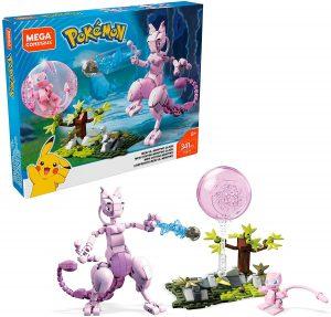 Figura de Mew vs Mewtwo de Mega Construx - Figuras coleccionables de Mewtwo de Pokemon