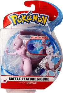 Figura de Mewtwo de Pokemon Battle - Figuras coleccionables de Mewtwo de Pokemon
