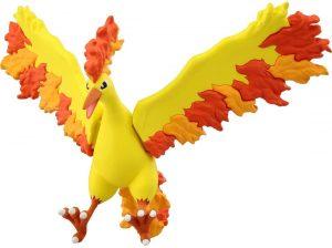 Figura de Moltres de Takara Tomy - Figuras coleccionables de Moltres de Pokemon