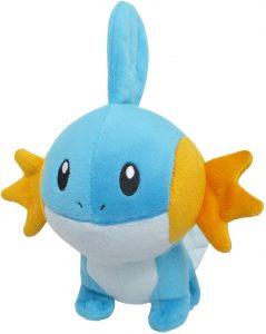 Figura de Mudkip de peluche - Figuras coleccionables de Mudkip de Pokemon