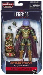 Figura de Mysterio de Marvel Legends - Figuras coleccionables de Mysterio