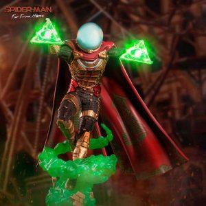 Figura de Mysterio de Spiderman Far From Home - Figuras coleccionables de Mysterio