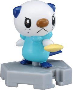 Figura de Oshawott de Takara Tomy 2 - Figuras coleccionables de Oshawott de Pokemon