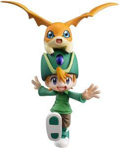 Figura de Patamon y Takeru de Digimon de Megahouse - Figuras coleccionables de Digimon