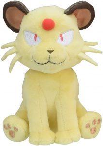 Figura de Persian de peluche - Figuras coleccionables de Meowth de Pokemon