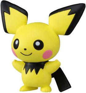 Figura de Pichu de Takara Tomy 2 - Figuras coleccionables de Pichu de Pokemon