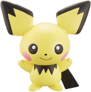 Figura de Pichu de Takara Tomy - Figuras coleccionables de Pichu de Pokemon