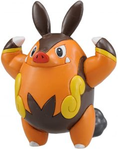 Figura de Pignite de Takara Tomy - Figuras coleccionables de Pignite de Pokemon