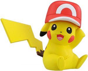 Figura de Pikachu con gorra de Takara Tomy - Figuras coleccionables de Pikachu de Pokemon